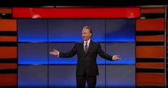 """Updated Saturday with video Bill Maher celebrated his birthday – and the 15th season premiere of HBO's Real Time With Bill Maher – with an opening salvo against his old nemesis and new president: """"What does every kid want for his birthday?,"""" the comedian asked in his first monologue since the Oval Office"""