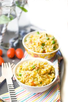 Risotto is great for kids as it is so soft and creamy. This vegetable risotto is no exception. Use home made stock or baby stock if serving to baby.
