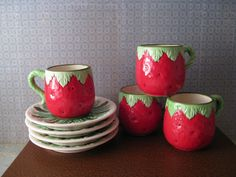 Strawberry Espresso Set