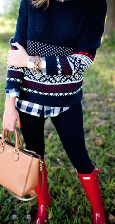 cute patterned knit sweater http://rstyle.me/n/sew32r9te