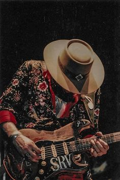 Stevie Ray Vaughan, Music Guitar, By Using, Musicals, Cowboy Hats, Japan, Learning, Concert, Image