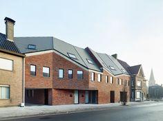 Low Energy Social Housing - 36 houses in Westkerke, Belgium, West Flanders  ampe. trybou architecten, Dennis De Smet Divisare