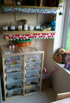 DIY organization kids craft supplies