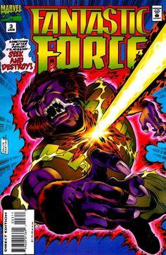 Fantastic Force # 3 by Dante Bastianoni