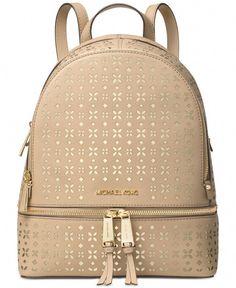 Michael Michael Kors Rhea Zip Medium Backpack  Designerhandbags Micheal  Kors Backpack 9e9cd2d854355