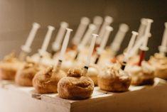 Real Wedding – Nikki + Scott - Dessert Buffet - Donuts - Wedding Catering
