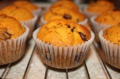 Pumpkin chocolate chip muffins.  I just made these, and they were VERY popular.  I did half whole wheat flour and no one was the wiser :)