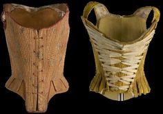 Silk corsets 17th. Century