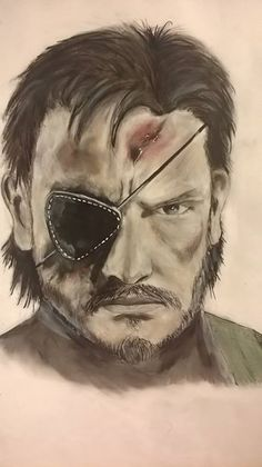 Big Boss from MGS V