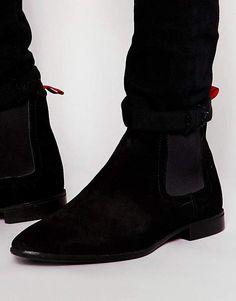 9cfbc077b7c ASOS Chelsea Boots in Suede Chelsea Boots Outfit, Zwarte Laarzen, Asos,  Suède Reiniger