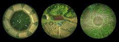 L'arena delle balle di paglia dove il fiume Senio incrocia il canale emiliano-romagnolo