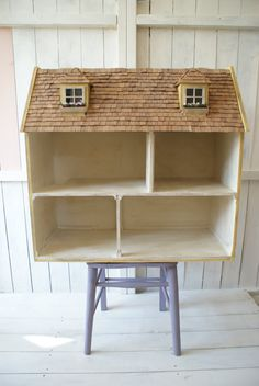 Dolls House Storage Unit by Artistique on Etsy, £150