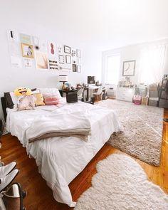 Bachelorette Pad, Shag Rug, Morning Person, Interior Design, Bed, House, Furniture, Home Decor, Instagram