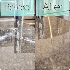 This granite cleaner penetrates microscopic pores and encapsulates the dirt. Other cleaners can't do that!