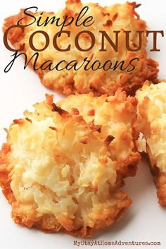 Besitos de Coco or Coconut Macaroons were my old time favorites ever. This simple and delicious treat brings back memories of my childhood in Puerto Rico. Though there are many ways to create this delicious treat, in our family we stick to the simple reci Puerto Rican Dishes, Puerto Rican Cuisine, Puerto Rican Recipes, Mexican Food Recipes, Sweet Recipes, Dessert Recipes, Ethnic Recipes, Puerto Rican Coconut Candy Recipe, Puerto Rican Cake Recipe