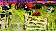 Dick Frizzel Illustrations in The Magpies by Dennis Glover - Google Search