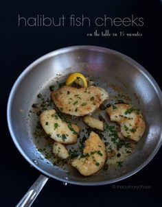 Halibut Fish Cheeks - so tender and delicious you won't believe you're eating fish!