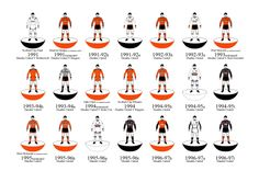 Dundee United historical kits 1991-96