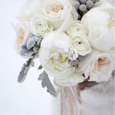 Can't get over my beautiful bouquet. And in December, no less! Photo by Nicole Gerulat  | flowers by Sweetbriar Cove