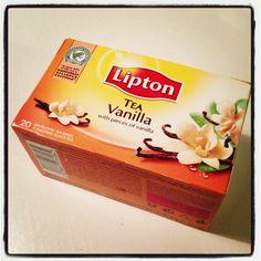 Vanilla Tea, Lipton, Candy, Drink, Food, Beverage, Essen, Meals, Sweets