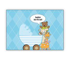 Blaue Babykarte mit Stofftieren und Kinderwagen: Endlich bist Du da!! - http://www.1agrusskarten.de/shop/blaue-babykarte-mit-stofftieren-und-kinderwagen-endlich-bist-du-da/    00000_1_2348, Eltern, Familie, geboren Neugeborenes, Geburt, gratulieren Großeltern, Grusskarte, Klappkarte Baby00000_1_2348, Eltern, Familie, geboren Neugeborenes, Geburt, gratulieren Großeltern, Grusskarte, Klappkarte Baby