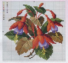 This Pin was discovered by анж Cross Stitch Heart, Cross Stitch Borders, Cross Stitch Flowers, Cross Stitch Designs, Cross Stitching, Cross Stitch Embroidery, Cross Stitch Patterns, Needlepoint Patterns, Embroidery Patterns