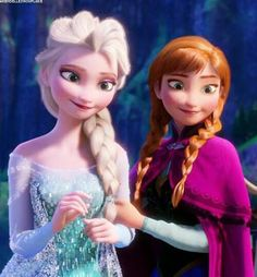 Olaf is back and look at the face of Anna! (she still thinks Elsa is that Snowman )! She is holding on the Left arm of Elsa! Frozen Disney, Walt Disney Movies, Disney Princess Movies, Disney Princess Pictures, Elsa Frozen, Disney Fun, My Princess, Disney Princesses, Disney Cartoon Characters
