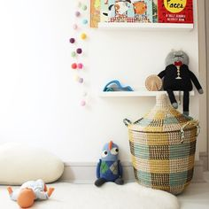 Keep the clutter out with Olli Ella's Coda Basket!