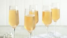Classic champagne cocktail- for an Italian twist, sub Tuaca for the cognac; Prosecco for the champagne; Orange bitters for the Angostura bitters