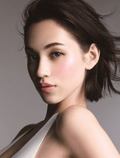 "Kiko Mizuhara for Shiseido MAQuillAGE's new ""Lady Mood Collection"""