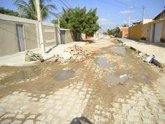 Folha certa : Descaso da CAERN em Mossoró