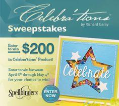 Celebrations Sweepstakes Enter to win here > http://virl.io/dOVzASqo