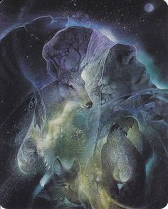 """O lover of the Goddess, She understands, and finds the Door of Liberation. Those who keep the Goddess enshrined within their hearts are said to be blessed."" Anna Livia Plurabelle - Art: Gaia by Susan Seddon Boulet Fantasy Life, Fantasy Art, Gaia, Spirit Art, Earth Spirit, Art Visionnaire, Vision Quest, Goddess Art, Visionary Art"