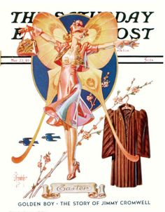 #Easter cover, by J.C. Leyendecker (March 23, 1940)