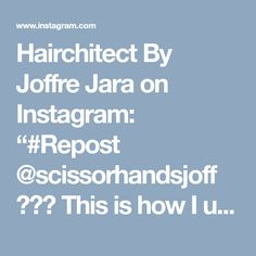 """Hairchitect By Joffre Jara on Instagram: """"#Repost @scissorhandsjoff ・・・ This is how I understand haircuts. By doing diagrams.. using 📲📲📲 HAIRCHITECT MOBILE APP.. click the link on…"""""""