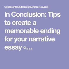 ending your essay with a quote