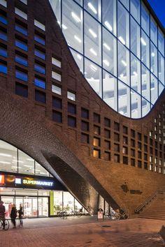 Helsinki University Main Library by Anttinen Oiva Architects / Kaisaniemenkatu, Helsinki, Finland