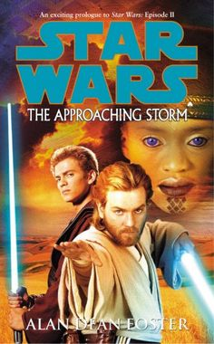 Star Wars The Approaching Storm Alan Dean Foster Hard Cover Edition 2002 Obi Wan, Alan Dean Foster, War Novels, Star Wars Books, The Phantom Menace, English, Audio Books, The Fosters, Science Fiction