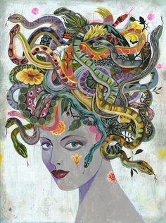 Medusa - by Olaf Hajek