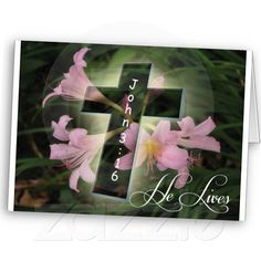 He Lives Easter Card