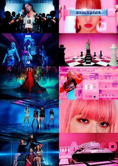 BLACKPINK Kpop Girl Groups, Korean Girl Groups, Kpop Girls, Yg Entertainment, Blackpink Outfits, Blackpink Photos, Pictures, K Pop, Pink Performance
