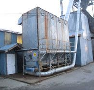 40,000 CFM Dust Collector. Fan Driven by 100 hp Motor.Unit is in Good Working Condition.
