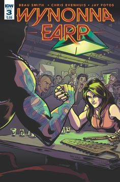 After bringing down Mars Del Rey's cannibal cartel, Wynonna Earp needs to unwind... what better way to do that than chasing down a dangerous half-demon fugitive with the help of a new partner? All in