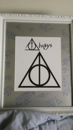 Harry Potter bridal shower gift.