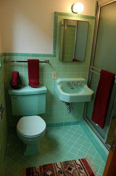 Lavabo Vintage, Art Deco Bathroom, Bathroom Ideas, Master Bathroom, Boho Bathroom, Bathroom Modern, Bathroom Sinks, Bathroom Renovations, Small Bathroom