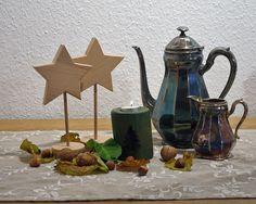 Wunderschöne Weihnachtssterne aus Buchenleimholz von Schlüter Kunst und Design - Stühle, Kommoden, Regale, Modeschmuck auf DaWanda.com