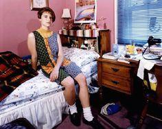 Photos of nineties kids in their bedrooms | her dress, tho