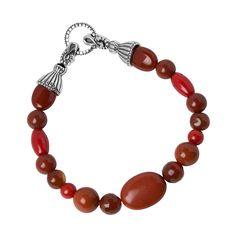 Beaded Bracelets Red   ID#: cp2-3310-085