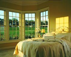 Andersen 400 Series Double-Hung Windows Bedroom View