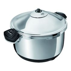 Kuhn Rikon Durotherm Chrom 3 L Pressure Cooker 866 Silver >>> See this awesome image @